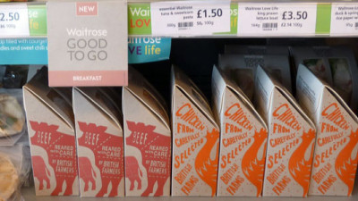 Waitrose To Cut Packaging in Half By 2016