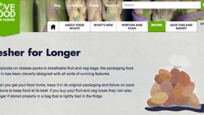 'Fresher for Longer' Campaign Hopes To Reduce UK Food Waste by Highlighting Importance of Packaging