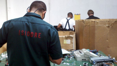 Isidore Electronics Recycling Helps Give Electronics - and Inmates - a Fresh Start
