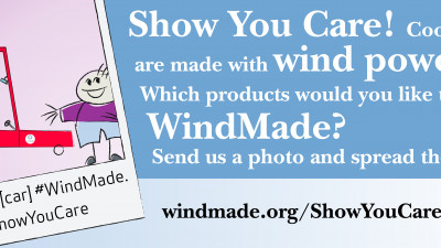WindMade Introduces Product Label and Calls on Consumers to 'Show You Care'
