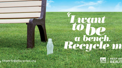 New 'I Want to Be Recycled' Campaign Targeting 62% of Americans Who Are Not Avid Recyclers
