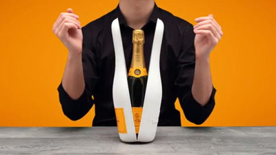 Veuve Clicquot Innovates for More Sustainable Packaging