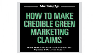 AdAge Releasing New Report on Navigating FTC Green Guides