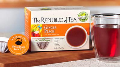 Republic of Tea Launches 95% Biodegradable Single-Serve Pod