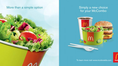 McDonald's Announces Commitment to Promote Balanced Food and Beverage Choices
