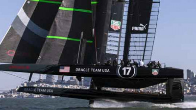 Boeing, Oracle Team USA Partner to Recycle Composites in America's Cup-Class Yacht