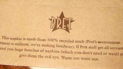 Effective Sustainability Strategies - Case Study #1: Pret a Manger