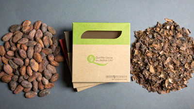 How Sweet: Chocolate Bars Can Now Be Wrapped in Paper Made from Cocoa Husk Waste