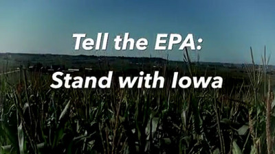 New TV Ad in Iowa Enlists Public's Help to Save Renewable Fuel Standard