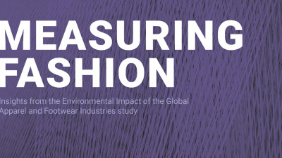 Measuring Fashion report delivers results from the first study on the  global environmental impacts of the apparel and footwear industries