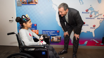 The Walt Disney Company Commits More Than $100 Million to Bring Comfort to Children and Their Families in Hospitals