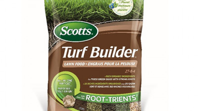 Scotts® Turf Builder® with Root-Trients™ Raises the Bar in Lawn and Garden Sustainability with Braskem's Bio-Based I'm green™ Polyethylene Packaging