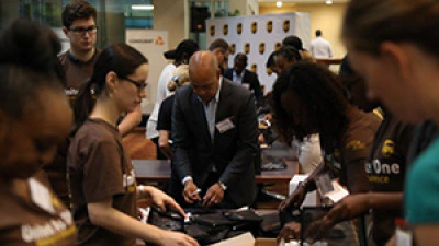 UPS Assembles 500 Hygiene Kits For Atlanta Homeless Teens Heading Back To School In Fulton County
