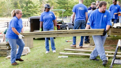 Ford Volunteer Corps Deploys Thousands of Employees Into Communities Worldwide During Ford Global Caring Month