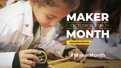 Stanley Black & Decker Launches Maker Month to Celebrate Innovators