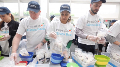 PepsiCo Employees To Pack More Than One Million Nutritious Meals For Underserved Communities In Westchester County And Latin America