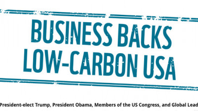 630 Companies, Investors Tell Trump: Continue Accelerating a Low-Carbon Economy