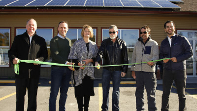 The sky is the limit for Hiawatha's citizens as community hub goes solar