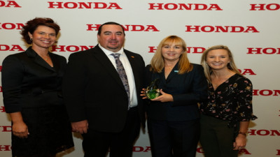 BASF receives Honda of America's Waste Stewardship award