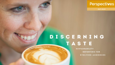 Discerning Taste: Sustainability Reporting for Evolving Audiences