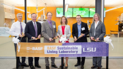 BASF Sustainable Living Laboratory unveiled at newly constructed Patrick F. Taylor Hall on the campus of Louisiana State University