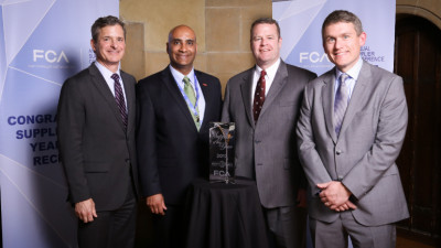 BASF named Sustainability Supplier of the Year by FCA US