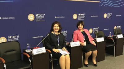 "Amway Charity Foundation Showcases ""Mompreneur"" Program at St. Petersburg International Economic Forum in Russia"