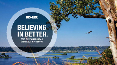 Kohler Releases 2016 Sustainability and Stewardship Report