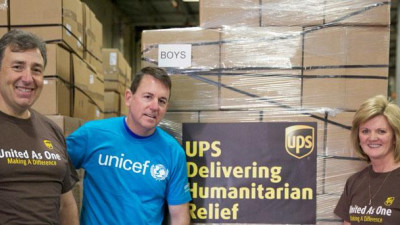 UPS Partners with UNICEF USA & Governor Cuomo's Empire State Relief Effort to Support Puerto Rico
