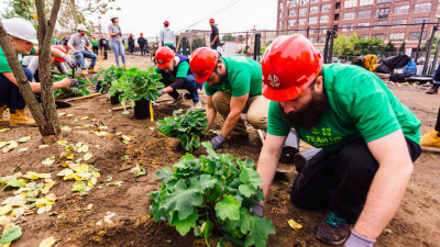 Timberland Takes Five-Year Urban Greening Commitment to Philadelphia