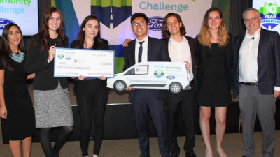 Ford C3 Celebrates 10 Years of Boosting Community Sustainability Through Student innovation; New Era To Expand Social Impact