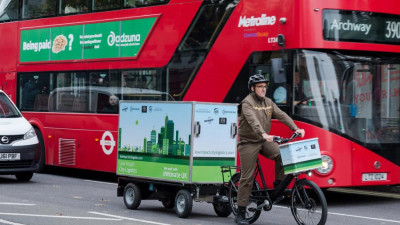 UPS Trials New And More Sustainable Urban Delivery System In London