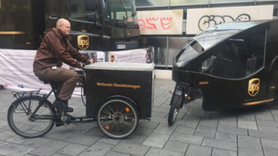 UPS Launches Sustainable Deliveries In Frankfurt