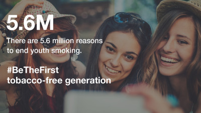 CVS Health Makes $50 Million Five-Year Commitment to Deliver the Nation's First Tobacco-Free Generation As Next Step Toward Smoke-Free Living
