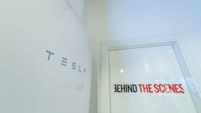 Tesla Powerwall at Radisson RED Brussels