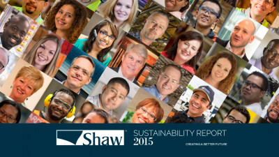Shaw Industries Releases 2015 Sustainability Report
