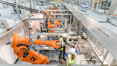 Energy Use Halved at Ford's New Dagenham Production Line