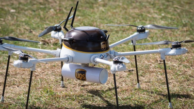 UPS Tests Medicine Delivery by Drone Off Atlantic Coast