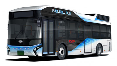 Toyota to Start Sales of Fuel Cell Buses under the Toyota Brand from Early 2017