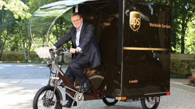 First UPS U.S. Delivery eBike Debuts In Portland, Ore.