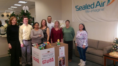 Sealed Air Corporation Donates to Toys for Tots