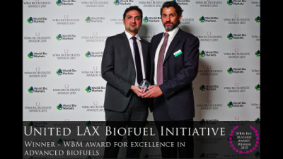 United Airlines Recognized For Innovation and Leadership at Bio Business Awards 2015