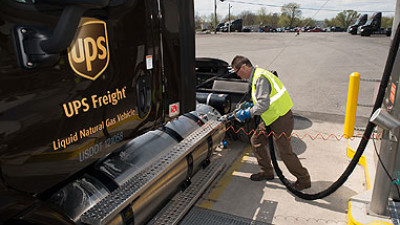 UPS Freight Adds LNG Tractors