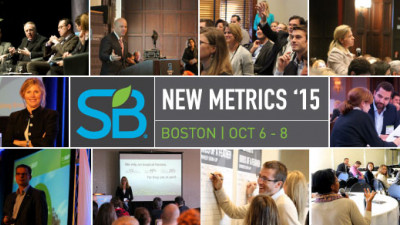 Sustainable Brands Releases Program Details for Fifth Annual New Metrics Conference
