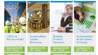 thinkstep to Exhibit and Present Solutions for Product and Corporate Sustainability in booth # 1000 at Greenbuild 2015