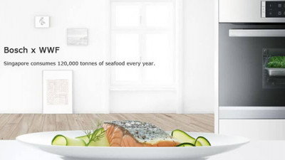 Bosch and WWF Team Up to Make Sustainable Seafood Consumption Mainstream