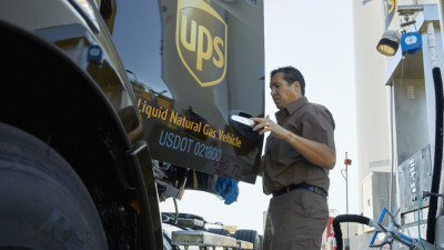 Barron's Names UPS in Top Two Percent of U.S. Companies for Sustainability Efforts