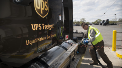 UPS Makes Largest Purchase of Renewable Natural Gas Ever in the U.S.