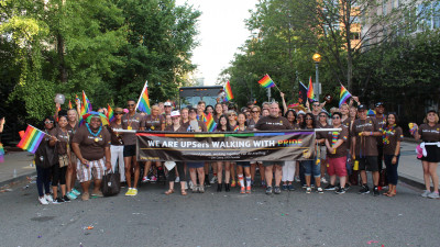 UPS Brings Commitment and Support to Pride Month