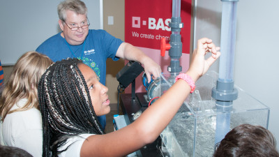 1,150 Students Experience STEM Careers During BASF's 27th Annual Responsible Care Week